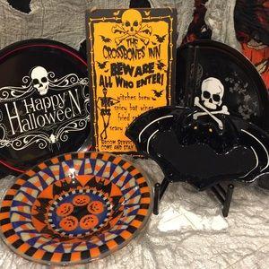 Halloween serving ware bundle- 5 pieces